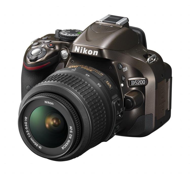NIKON D5200 Bronze + 18-55mm VR II AF-S DX