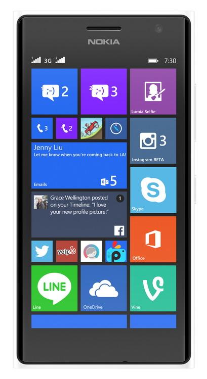 NOKIA (MS) Nokia Lumia 730 Dual SIM White