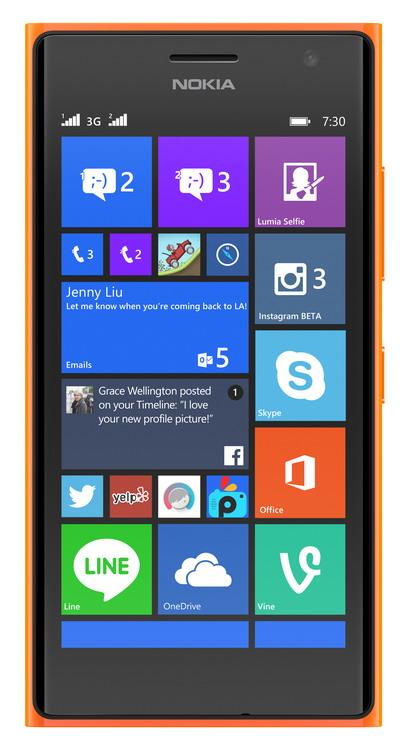 NOKIA (MS) Nokia Lumia 730 Dual SIM Bright Orange