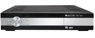 ZIRCON ZIRCON DVB-S2 přijímač Twin tuner CI LAN PVR FastScan