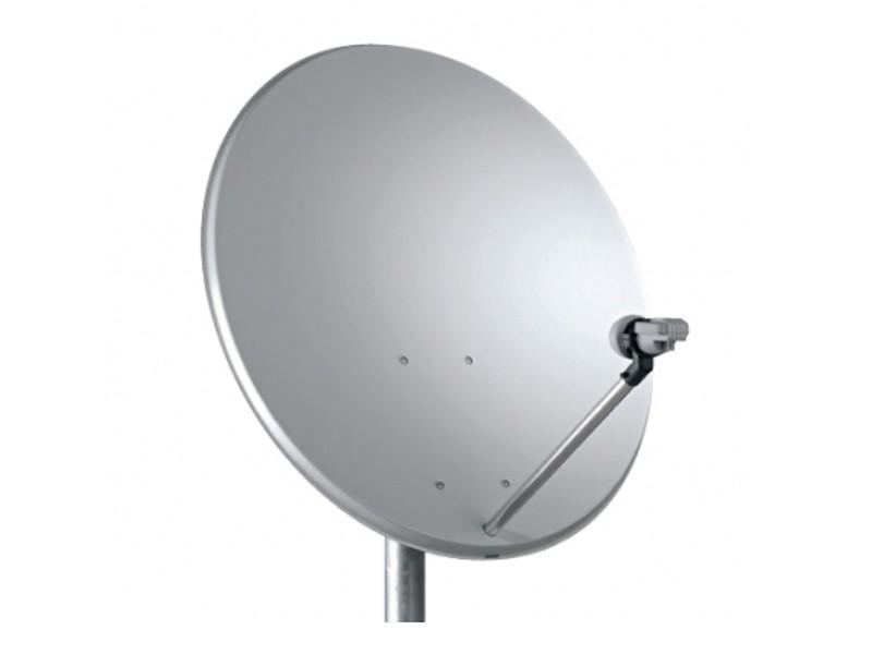 TELE SYSTEM TS parabola offset 80 Fe Steel line bílá