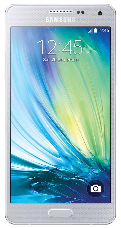 Samsung Galaxy A5 (SM-A500FU), stříbrná