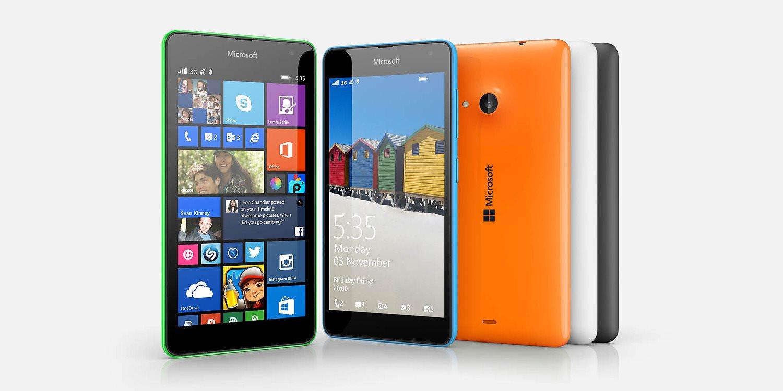 NOKIA (MS) Microsoft Lumia 535 White