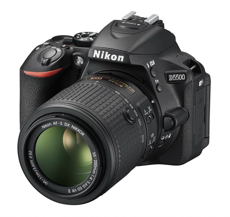 NIKON D5500 Black + 18-55 VR + 55-200 VR II