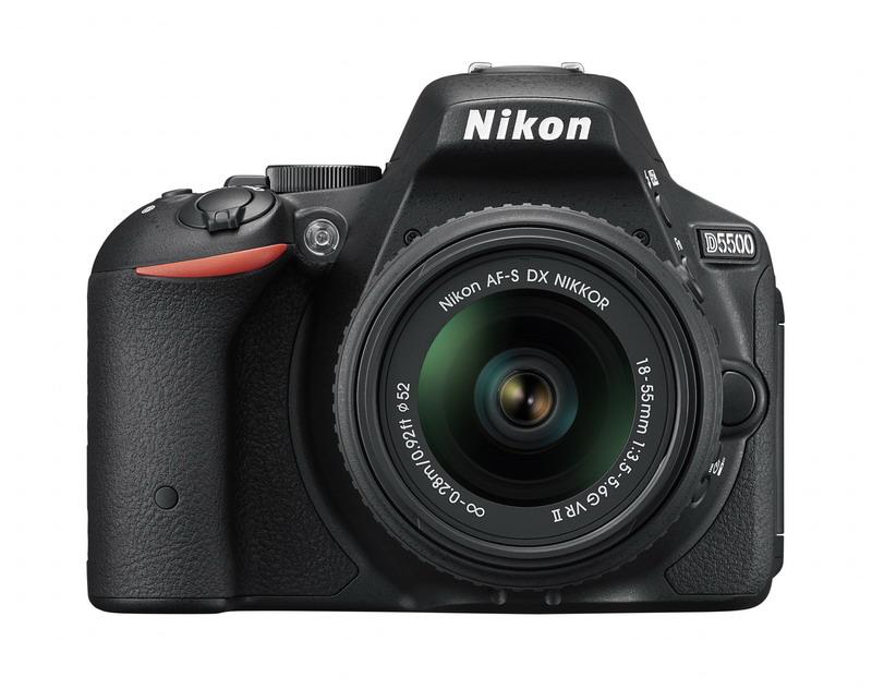 NIKON D5500 Black + 18-55 VR II