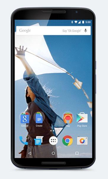 Motorola Nexus X (Nexus 6), 32 GB, modrá