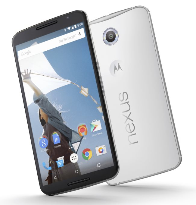 Motorola Nexus X (Nexus 6), 32 GB, bílá