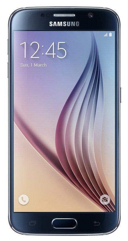 Samsung Galaxy S6 (SM-G920F), 128 GB, černá