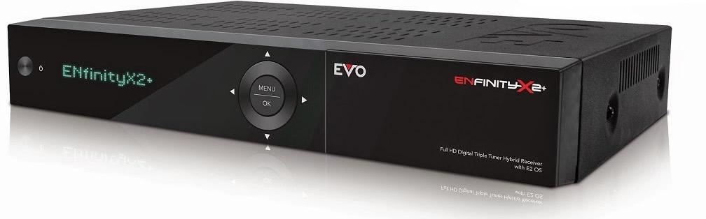 OPTIBOX OPTIBOX EVO ENfinity X2+ (S2+S2) satelitní přijímač