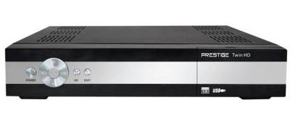Prestige PRESTIGE DVB-S2 přijímač Twin tuner CI LAN PVR