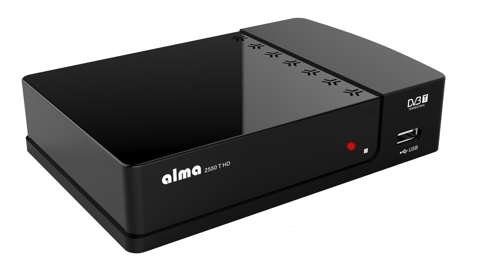 ALMA ALMA DVB-T HD přijímač 2550 T HD