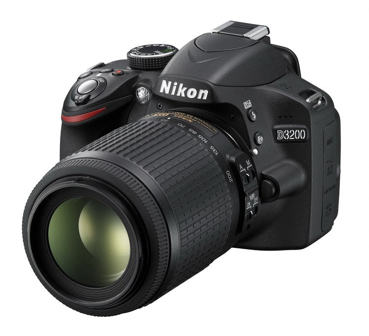 NIKON D3200 Black + 18-55 VR II AF-S DX / 55-200 VR II AF-S