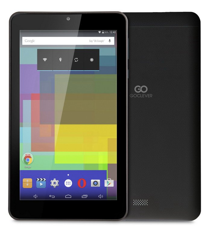 "GoClever Quantum 2 700 Black, 7"" 1024x600 LCD, 4xcore 1,2GHz, 512MB/8GB, Android 4.4."