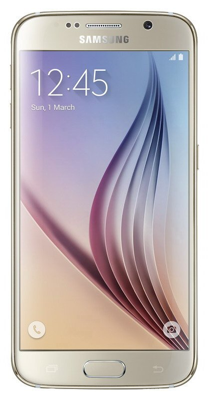 Samsung Galaxy S6 (SM-G920F), 32 GB, zlatá