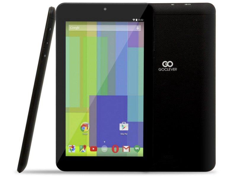 GoClever Quantum 700N Lite, 1024x600, 512/8 GB, GPS, BT, černá