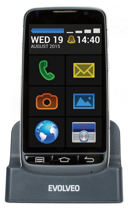 EVOLVEO EasyPhone D2 Dual SIM, černá