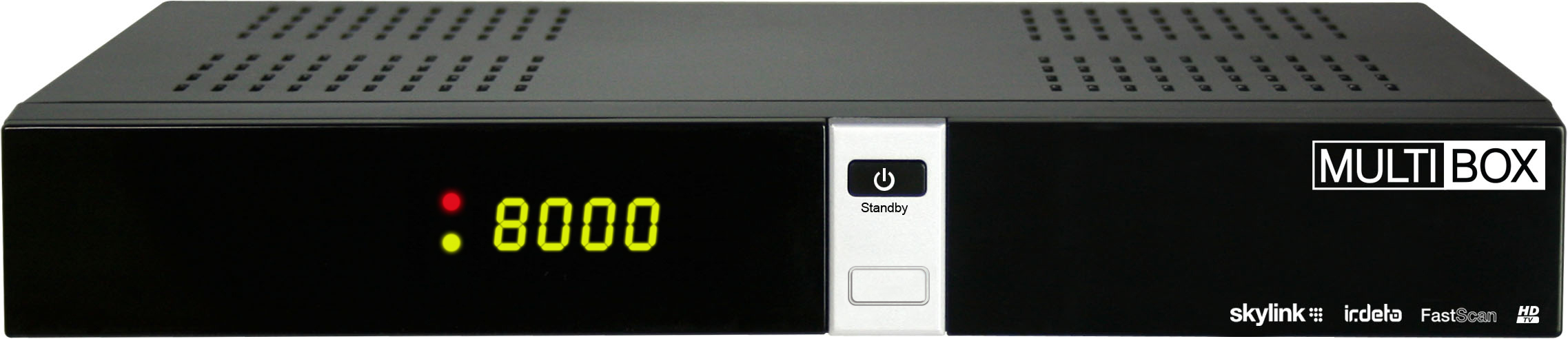 OPTIBOX Dotovaný Multibox HD DVB-S2 přijímač Skylink ready