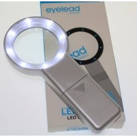 EYELEAD osvětlená kruhová lupa 5x (8xLED)