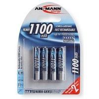 ANSMANN Micro NiMH 4xAAA 1100mAh DIGITAL BL4, 4kusy baterie