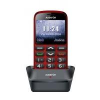 Aligator A870 GPS Senior, červená + nabíjecí stojánek
